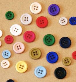 40-18803 matt ring edge basic children's button x 10