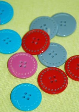 40-50974 36L Stitch Effect Button
