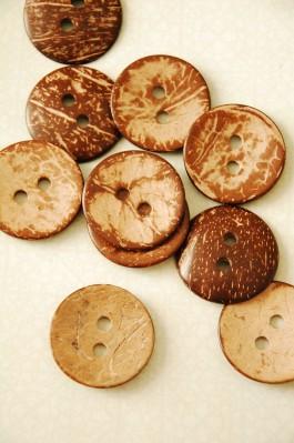 55-T0161AB4 Coconut Button x 1