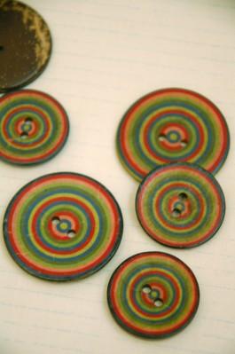 63-A8331 Coconut Circles Button