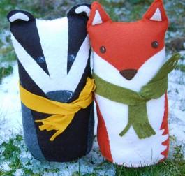 Badger & Fox Pattern