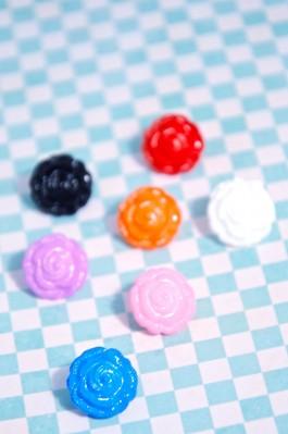 04-CTN0191 24L Flower Shank Button x 10