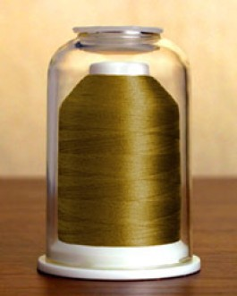 1137 Army Green Hemingworth Machine Embroidery & Quilting Thread