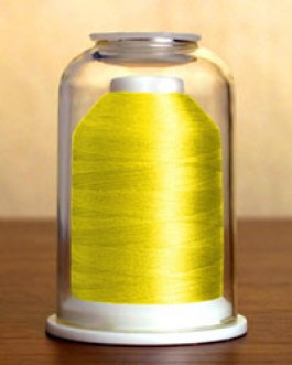 1226 Sunshine Yellow Hemingworth Machine Embroidery & Quilting Thread