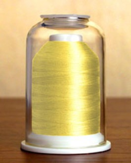 1039 Yellow Plumeria Hemingworth Machine Embroidery & Quilting Thread