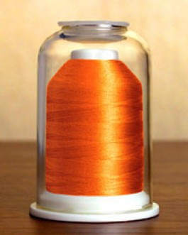1026 Dark Mango Hemingworth Machine Embroidery & Quilting Thread
