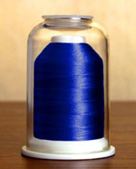 1203 Royal Blue Hemingworth Machine Embroidery & Quilting Thread
