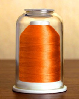 1028 Hunter Orange Hemingworth Machine Embroidery & Quilting Thread