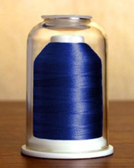 1204 Brilliant Blue Hemingworth Machine Embroidery & Quilting Thread
