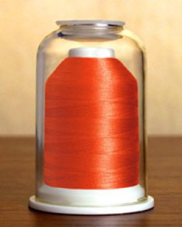 1018 Dark Salmon Hemingworth Machine Embroidery & Quilting Thread
