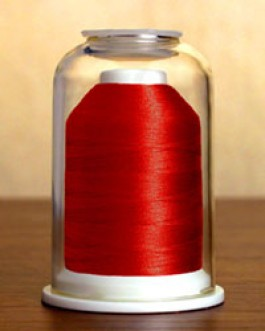 1002 Cardinal Red Hemingworth Machine Embroidery & Quilting Thread