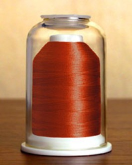 1234 Rusty Red Hemingworth Machine Embroidery & Quilting Thread