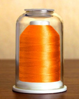 1277 Neon Orange Hemingworth Machine Embroidery & Quilting Thread