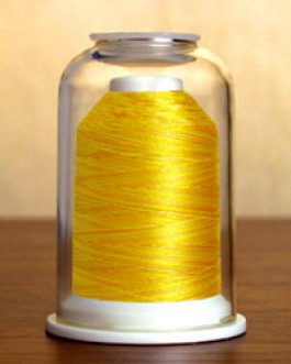1501 Vari Yellow Hemingworth Machine Embroidery & Quilting Thread