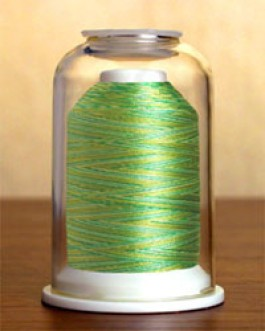 1502 Vari Green Hemingworth Machine Embroidery & Quilting Thread