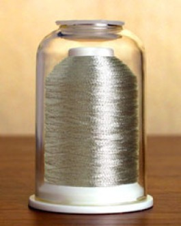 9013 Metallic Pewter Hemingworth Machine Embroidery & Quilting Thread