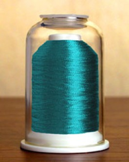 9017 Metallic Blue Topaz Hemingworth Machine Embroidery & Quilting Thread