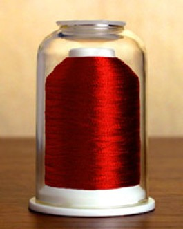 9021 Metallic Ruby Hemingworth Machine Embroidery & Quilting Thread