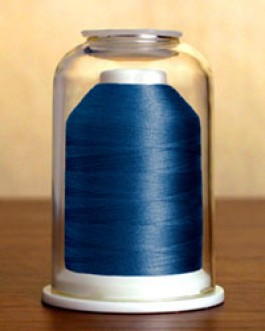 1196 Dark Aquamarine Hemingworth Machine Embroidery & Quilting Thread