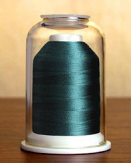 1258 Dark Turquoise Hemingworth Machine Embroidery & Quilting Thread