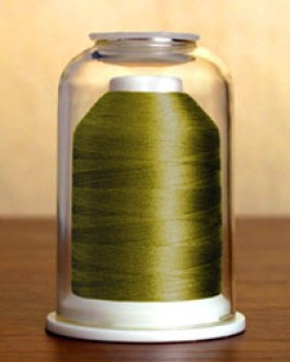 1246 Olive Green Hemingworth Machine Embroidery & Quilting Thread