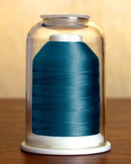 1195 Medium Aquamarine Hemingworth Machine Embroidery & Quilting Thread