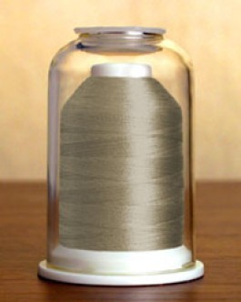 1072 Chrome Hemingworth Machine Embroidery & Quilting Thread