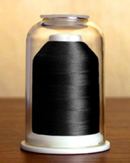 1087 Charcoal Hemingworth Machine Embroidery & Quilting Thread