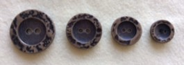 17-1032A Bronze Effect Button  x 1 Retail