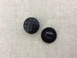 Lasered Black Shank Button 20L x 10