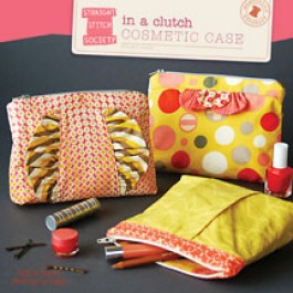 In a Clutch Cosmetc Case - Straight Stitch Society