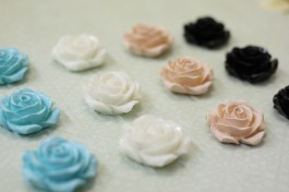 Flower Cabochon 28mm