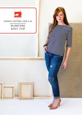 Liesel & Co Maritime Knit Top Pattern