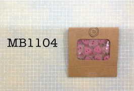 MB1104 - Pink Heart Buttons in a Matchbook