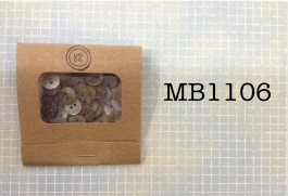 MB1106 - Agoya Shell Buttons in a Matchbook