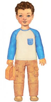 Oliver + S Field Trip Cargo Pants + Raglan T-shirt Sewing Pattern  LIMITED STOCK