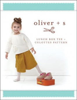 Oliver + S Lunch Box Culottes + Tee Sewing Pattern