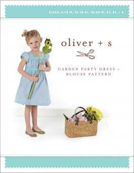 Oliver + S Garden Party Dress and Blouse Pattern