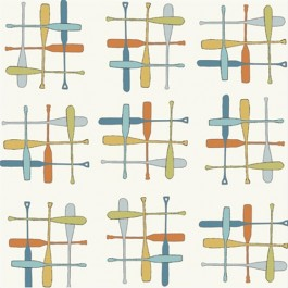 PADDLE HATCH - Camp Sur - Birch Organic Fabrics  x 1 metre