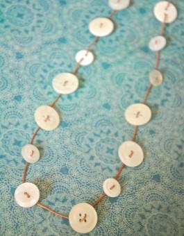 Simple Button Necklace Kit