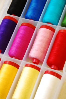 Aurifil Wool/ Lana Thread Set - Rainbow