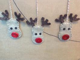 Three Reindeer Decoration Kit 10-12 DAYDELIVERY