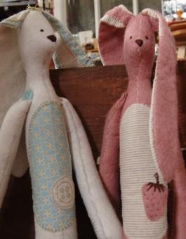 Pepe et Sophie Lapin Rabbit Pattern - Anna Rachel Designs