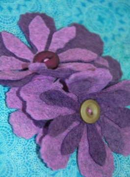 Felt Flower Corsage Kit