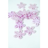 40-50761 36L Lilac Loopy Flower Button x 1  LIMITED STOCK