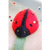 Wrist Pin Cushion Kit - Ladybird