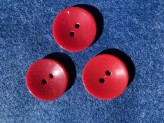 03-2138 Crimson red button x 5