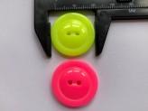 03-2151 Flourescent colour button x 1 - Limited Stock