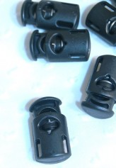 Black Cord End Toggles x 5