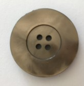 09-9006 Mocha 'Marble Effect'  Button  VERY LIMITED STOCK
